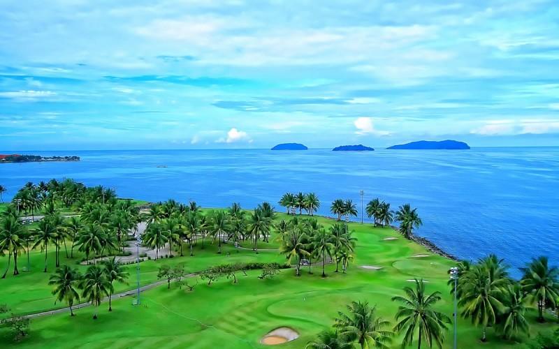 San golf BRG Da Nang golf resort (the dunes)