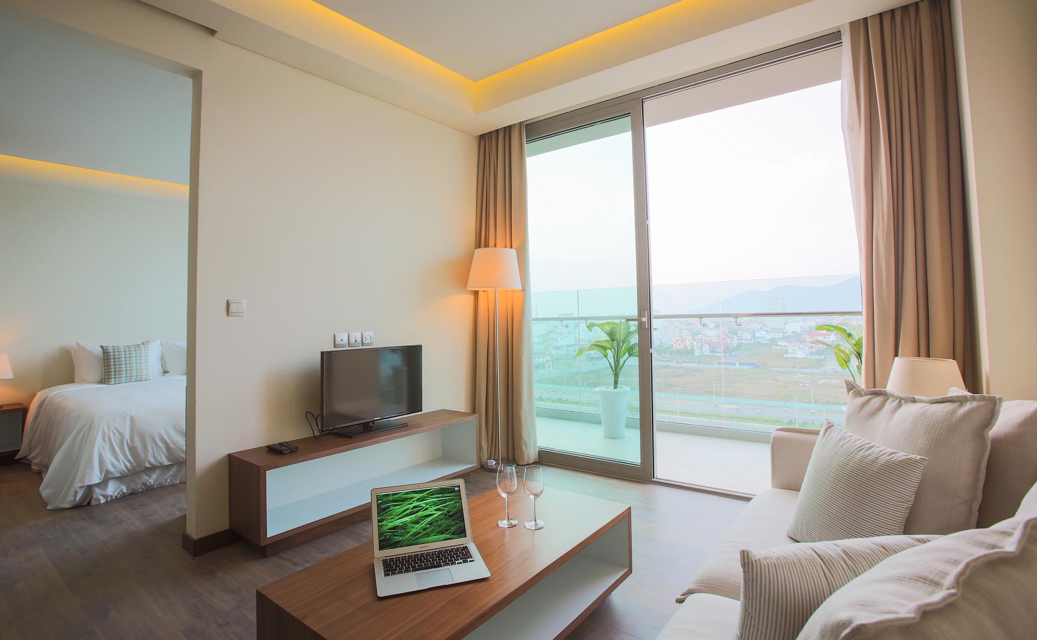 can ho khach san suite room alacarte hotel da nang
