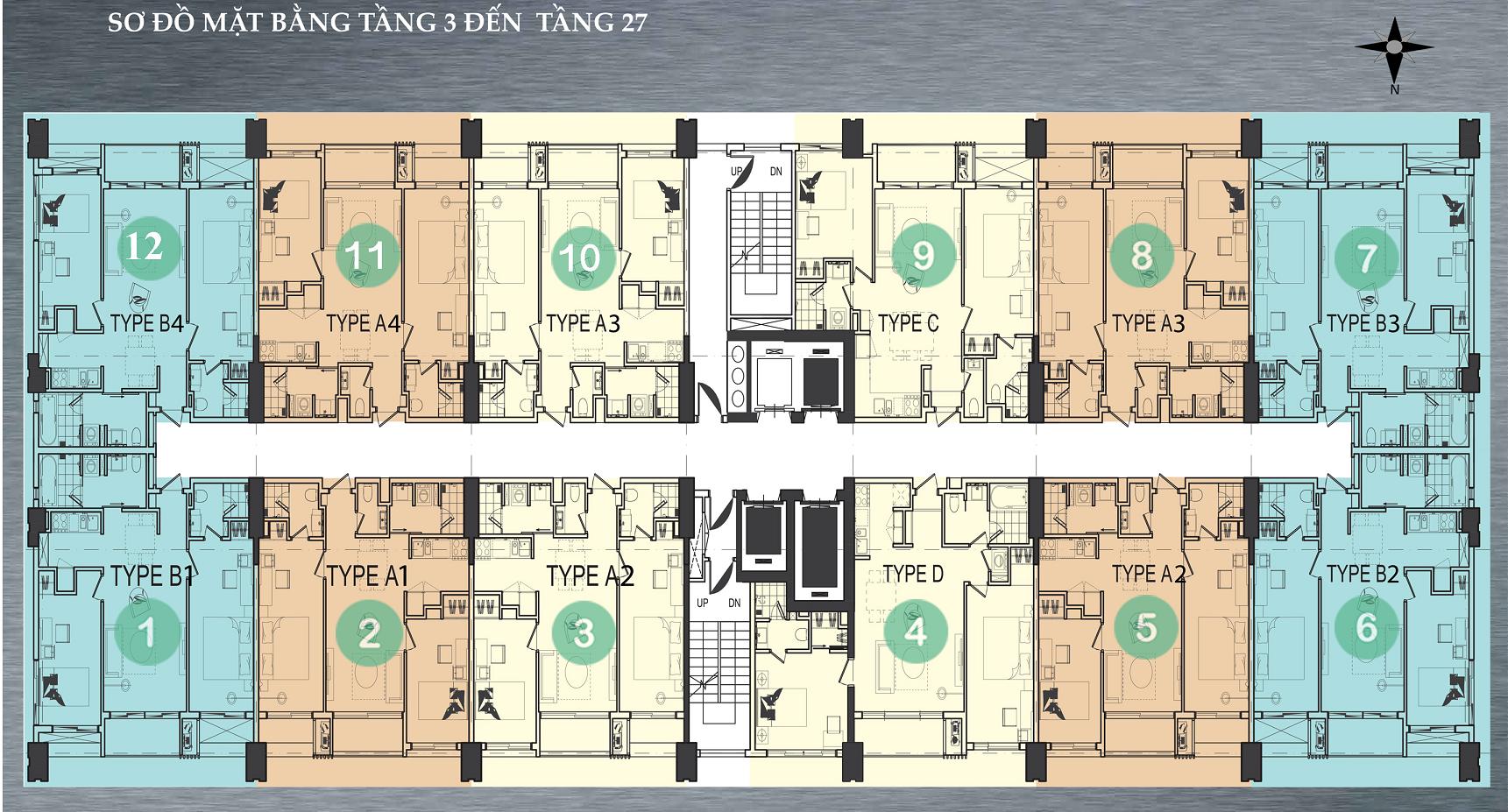 mat-bang-tang-3-den-tang-27-can-ho-hiyori-garden-tower-da-nang