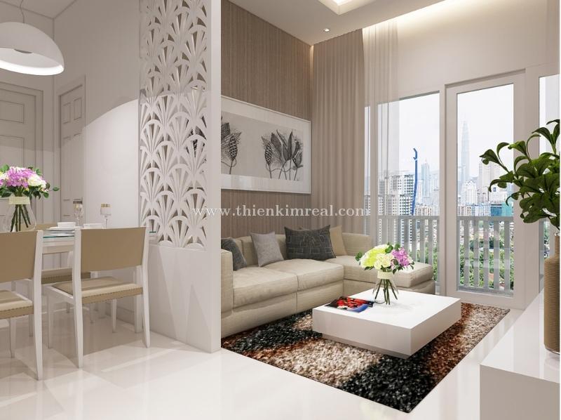 Cần bán căn hộ thuộc Dự án căn hộ chung cư Monarchy Đà Nẵng, 72.2m<sup>2</sup>, 2 phòng ngủ, 1.47 tỷ