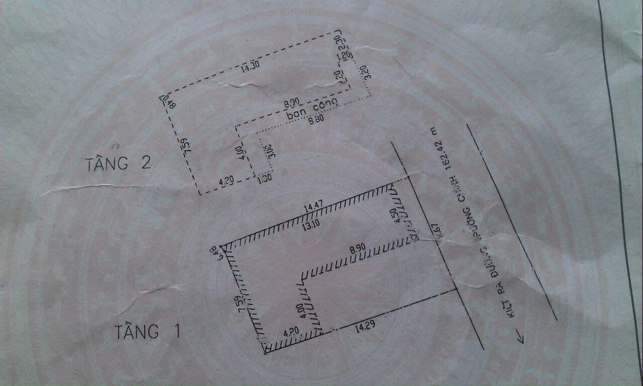 Cần bán nhà trong kiệt rộng 4m đường Trường Chinh, oto vào tận nhà, 119.2m<sup>2</sup>, ngang 7.67m, 2 tầng