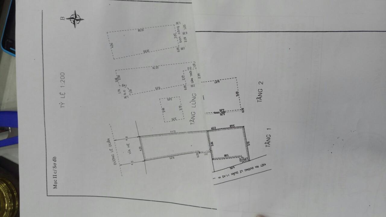 Cần bán nhà đường Lê Duẩn, 86m<sup>2</sup>, ngang 4.3m, 4 tầng, 12.04 tỷ