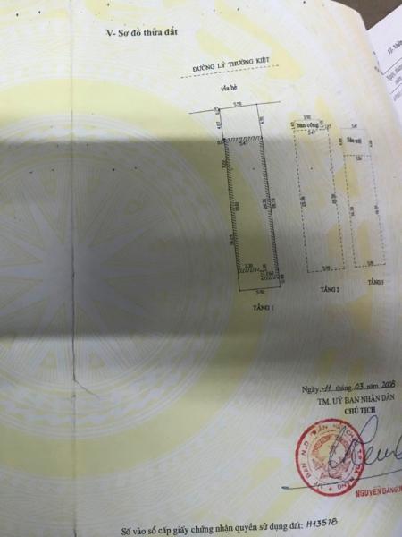 Cần bán nhà đường Lý Thường Kiệt, 148m<sup>2</sup>, 16 tỷ