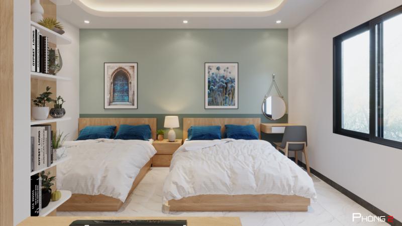 Cho thuê nhà đường Phạm Văn Đồng, 4.5 tầng, 6 phòng ngủ, 60 triệu/tháng