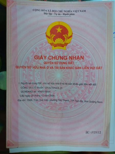 Cần bán đất, thuộc Khu đô thi số 3 Điện Nam Điện Ngọc, 250m<sup>2</sup>, 4 tỷ