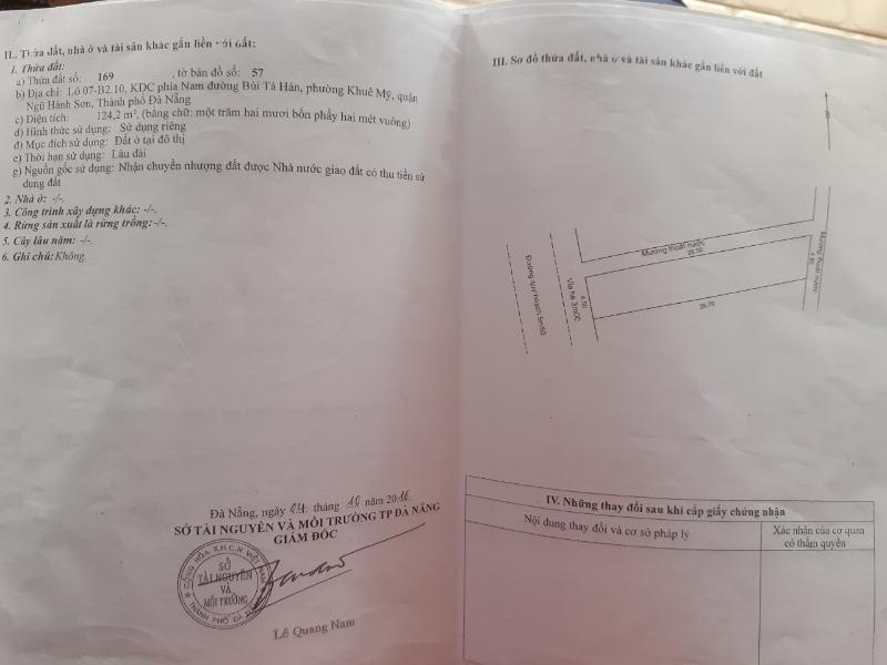 Cần bán đất đường Nguyễn Hữu Hào, thuộc Khu dân cư Nam Việt Á, 100m<sup>2</sup>, 3.15 tỷ